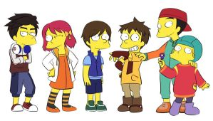 [TOBOT] Kids in Simpsons by Matsuri1128