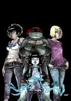 TMNT: Raphael: Bad Moon Rising #2 by mooncalfe