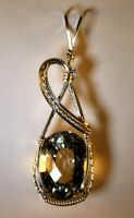 Imperial Topaz 32.43ct Pendant by skezzcrom