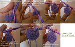 How to join rounds(crochet) by AmiAmaLilium