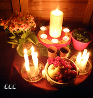 Summerfeast altar version 2. by LoveLiveLilith