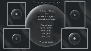Impressions : Wallpaper pack for Handhelds by rvc-2011