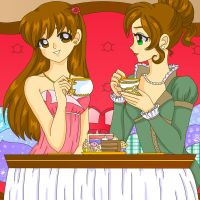 Afternoon Tea by Sailor-Serenity
