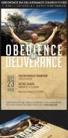 Obedience Before Deliverance Church Flyer Template by Godserv