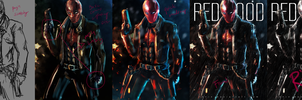Jason Todd : Red Hood Process by 13nin