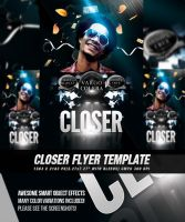 PSD Closer Flyer/Poster Template by retinathemes