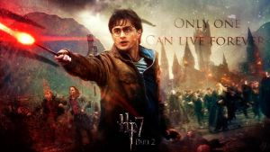 Harry Potter and The Deathly Hallows Wallpaper by DJ-AppleJ-Sound