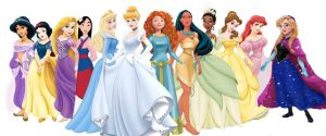 The Official Disney Princesses of 2013 by SweetlyStarShine