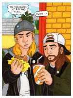 Jay and Silent Bob by Jaymzeecat