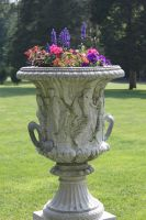 Decorative Flower Urn by Maeve09