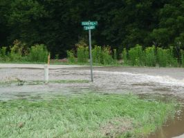 Small Town Flooding Part 1 by MoonStar18