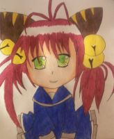 little catgirl chibi by ninjalove134