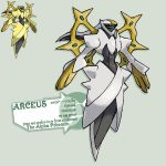Aceus origin forme for hugonby by G-FauxPokemon