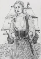Eleanore Guthrie(Black Sails)-Queen Of Thieves by chewjfsh