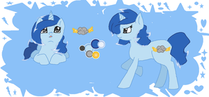 Snow Fall MLP FiM OC Reference by Snoweh-Storm