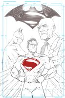 Man of Steel Sequel sketch WIP by Pramodace