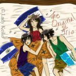 The Original Trio Sleep by LKeiko