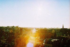 Lille from the sky with diamonds II by zoejanssen