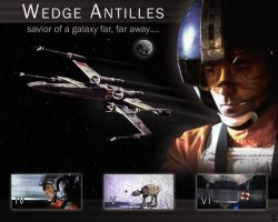 Wedge Antilles by MistressKristin