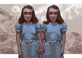Daily Sketches the Shining Twins by fedde