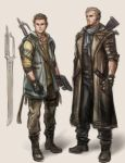 Concept art (Father and Son) by jaeon009