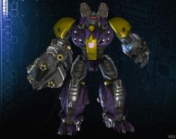 HARDSHELL [ Rise Of The Dark Spark ] by Goreface13