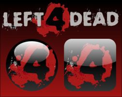 Left 4 Dead Icons by firba1