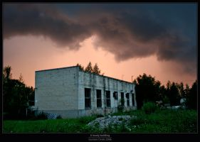 A lonely building by Gustavs