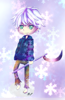 Jack Frost, DYUUUDDES! by BorderlineCloud