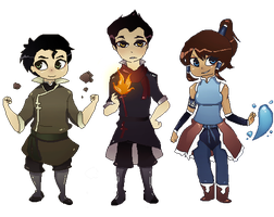 LoK: Korra's Krew by hellpassion