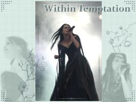 Within Temptation Wallpaper by Aelwynn-Telperien