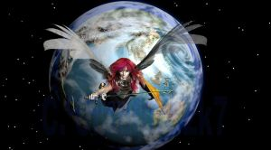 Defender of the Earth by gunstar1