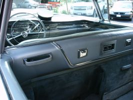 View From the Back Seat of a 1958 Fleetwood Limo by RoadTripDog