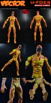 Custom Vector (Marvel U-Foes) Action Figure by MintConditionStudios