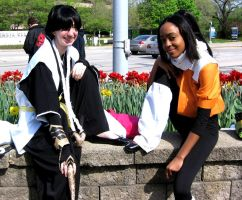 soi fong and yoruichi by PMconfection