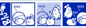 BluBOO: Sleepy Sunday by bluBoyComics