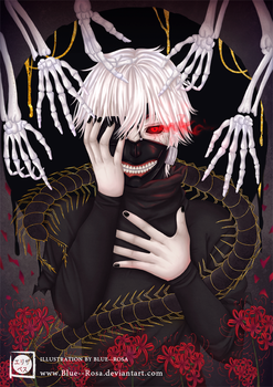 Tokyo Ghoul - Hands of the lily by Blue--Rosa