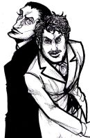Holmes and Dr. Watson by Ai-Lupin