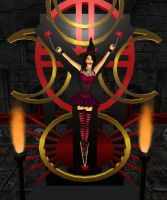 Hexette at the Altar by EnglishDamsel