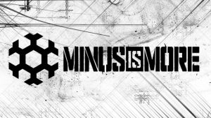 Minus is More Wallpaper by Hardii