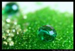 big and small green by Magrit