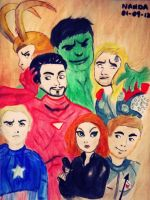 The Avengers by Nanda-R