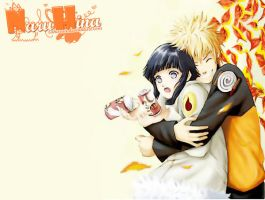 NaruHina _ Lovely Hug by Laharaa
