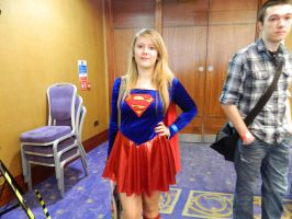 Supergirl Cosplayer by ZTPWolfHorse