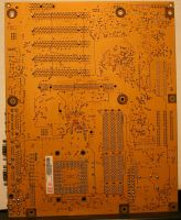 texture: mother board back by cyborgsuzystock