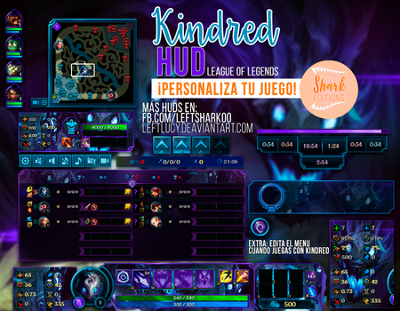 Kindred HUD League of Legends by LeftLucy
