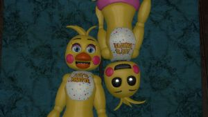 Toy Chica can take off her panties! by RandomThingsILike
