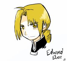 Edward Elric by toadinajellyjar