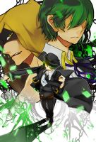 happy birthday Hazama by hazelfish