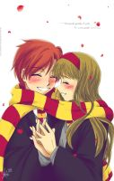 Ron Hermione: Warm by Al-Shira-Aohoshi